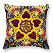 Arcturian Starseed Throw Pillow