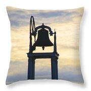 Ardara Church Bell Throw Pillow