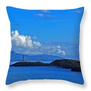 Ardnamurchan Lighthouse 4 Throw Pillow