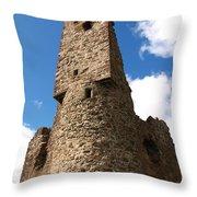 Ardvreck Tower Throw Pillow