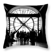 Are We In Time... Throw Pillow