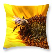 Are You Buzzing? Throw Pillow