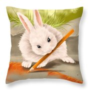 Are You Hungry? Throw Pillow