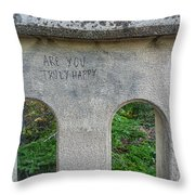 Are You? Throw Pillow