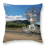 Are You Receiving Me Major Tom Throw Pillow by Trever Miller