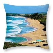 Arecibo Lighthouse 6 Throw Pillow