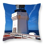 Arecibo Lighthouse 7 Throw Pillow