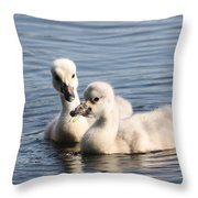 Aren't You Going To Share? Throw Pillow