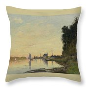 Argenteuil Late Afternoon Throw Pillow