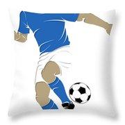 Argentina Soccer Player1 Throw Pillow