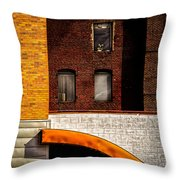 Argo Building Throw Pillow