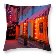 Argyle Street Halifax Throw Pillow