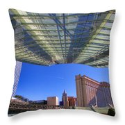 Aria Hotel II By Diana Sainz Throw Pillow