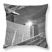 Aria Sun - Aria Resort And Casino At Citycenter In Las Vegas Throw Pillow