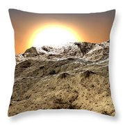 Arid Throw Pillow by Kevin Trow