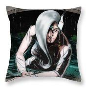 Arielle's Grotto Throw Pillow