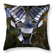 Aries The Ram Throw Pillow