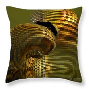 Arisen From The Depths Throw Pillow