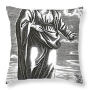 Aristippus Of Cyrene, Ancient Greek Throw Pillow
