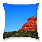 Arizona Bell Rock Hdr Throw Pillow