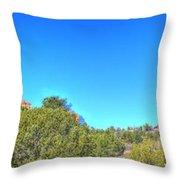 Arizona Bell Rock Throw Pillow