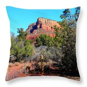 Arizona Bell Rock Valley N3 Throw Pillow