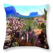 Arizona Bell Rock Valley N4 Throw Pillow