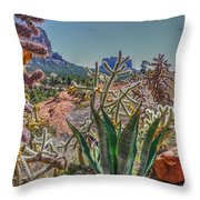 Arizona Bell Rock Valley N7 Throw Pillow