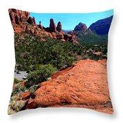 Arizona Bell Rock Valley N8 Throw Pillow