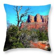Arizona Bell Rock Valley 1 Throw Pillow