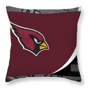 Arizona Cardinals Throw Pillow