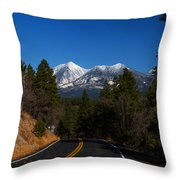 Arizona Country Road  Throw Pillow