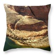 Arizona Horseshoe Bend Throw Pillow