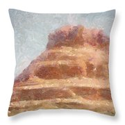 Arizona Mesa Throw Pillow