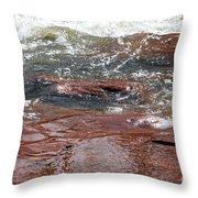 Arizona Rim Throw Pillow