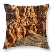 Arizona Rock Formation Throw Pillow