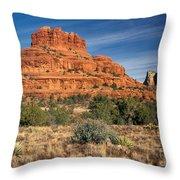 Arizona Sedona Bell Rock  Throw Pillow