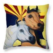 Arizona Spirit Throw Pillow