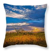 Arizona Sunset 27 Throw Pillow