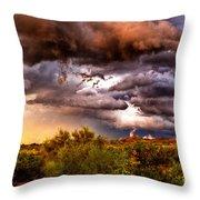 Arizona Sunset 5 Throw Pillow