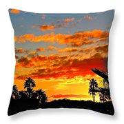 Beautiful Arizona Sunset Throw Pillow
