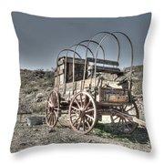 Arizona Wagon Throw Pillow