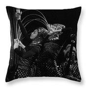 Arkestra Dancers 1 Throw Pillow