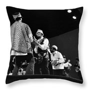 Arkestra Procession 1968 Throw Pillow by Lee  Santa