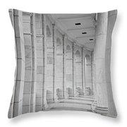 Arlington Amphiteather Arches And Columns Throw Pillow