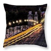 Arlington Bridge And Cemetery Throw Pillow