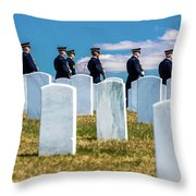 Arlington, Washington D.c. - Honor Throw Pillow