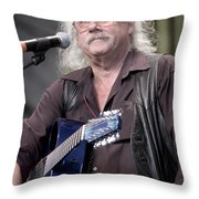 Arlo Guthrie Throw Pillow