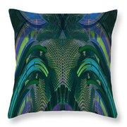 Armadillus Rex Throw Pillow