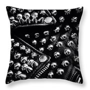 Armor For The Soul Throw Pillow